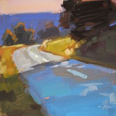 Carol Marine's Painting a Day: landscape