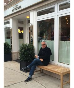 The Lambs Club chef Geoffrey Zakarian shares a photo diary from the Greenwich, CT opening of The National restaurant. Pictured: 2:00pm - Even on my day off I can't stay away...I just had to check in for a minute.
