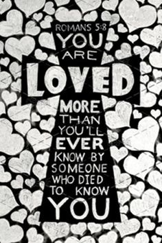 Sacrificial Love - Romans 5:8 - Chalk Art by Peter Ryan