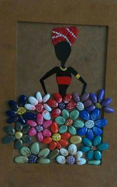 Flowers Handpainted Stones Pebble Art Stone Art by StefArtStone – BuzzTMZ Stone Crafts, Rock Crafts, Diy And Crafts, Arts And Crafts, Kids Crafts, Pebble Painting, Pebble Art, Stone Painting, Diy Painting