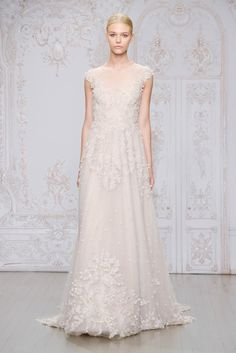 Our Favorites from Bridal Market: Monique Lhuillier Fall 2015 Collection
