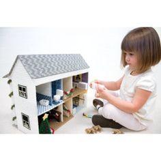 Mary Maxim - Christmas Doll House Plastic Canvas Kit