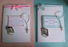 Personalised First Holy Communion Card - Boy or Girl £4.00