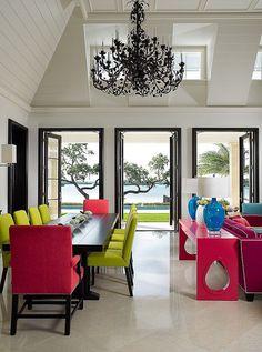 Яркие краски в дизайне вашего интерьера смогут поднять настроение вам и вашим близким. | Studio-line