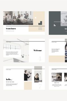 Keynote Template - Inara --- Your next great presentation is only minutes away with the 'Inara' template. A modern elegant design aesthetic will impress your Web Design, Slide Design, Page Design, Book Design, Layout Design, Graphic Design, Keynote Design, Powerpoint Design, Portfolio Design