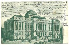 BERGHINZ - Vintage Collectibles: 1906 VINTAGE POSTCARD POSTED FROM NEWARK TO NEW YO...