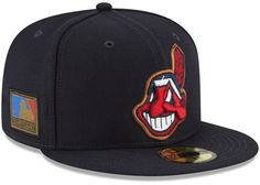 new style b87bb 0a2b8 Cleveland Indians Ultimate Patch Collection 125th Anniversary 59FIFTY Fitted  Cap. New Era ...