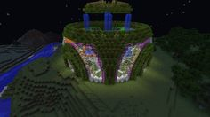 Not sure if this is a house or a garden but either way it's pretty cool! Minecraft Garden, Cool Minecraft, How To Play Minecraft, Minecraft Houses, Minecraft Ideas, Minecraft Creations, Minecraft Designs, Minecraft Challenges, Minecraft Kingdom