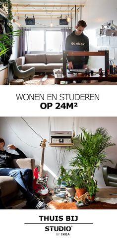 STUDIO by IKEA - Wonen en studeren op 24m² | #IKEA #IKEAnl #STUDIObyIKEA #wonen #studeren #ruimte #efficiënt #indelen #praktisch