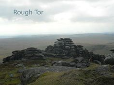 ROUGH TOR: At the top. Bodmin Moor, Cornwall     ✫ღ⊰n