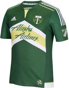 Uniforme titular do Portland Timbers - Coleção de Camisas.com bd94f16e074da