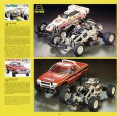Tamiya Frog & Brat from 1984 catalogue.
