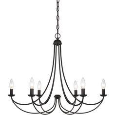 Quoizel Lighting MRN5006IB Dining & Foyer Chandeliers - Mirren