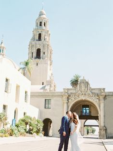 Saint Francis Chapel Balboa Park | San Diego Wedding Venue, San Diego Bride and Groom shot, Photo by Pura Soul Photography www.purasoul.com Planner Monarch Weddings