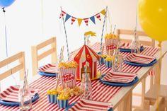 fiestas de cumpleaños del circo - Buscar con Google