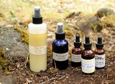 Herbal Camping DIY formulas