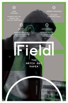 Field The Matchday Paper, October/November from field_matchday - Magpile Store Editorial Layout, Editorial Design, Magazine Design, Magazine Art, Layout Design, Print Design, Magazin Covers, Publication Design, Communication Design
