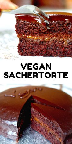 This classic Viennese cake has been Austria's favourite for a century and a half, and not surprisingly so. Our vegan Sac Chocolate Icing, Vegan Chocolate, Chocolate Recipes, Vegan Dessert Recipes, Baking Recipes, Vegan Treats, 21st Century, Sweet Treats, Austria