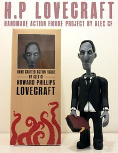 H.P. Lovecraft Action Figure Project
