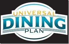 Learn about Universal Orlando Resorts Dining plan