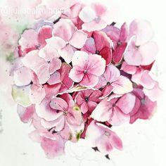 354 Mejores Imagenes De Hortensias En 2019 Hydrangeas Watercolor