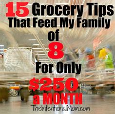 The price of groceries has skyrocketed, and every penny counts. For me, this means that I have had to work harder and shop smarter to get good prices. Following are the most important tips I use to keep my grocery budget at $250 a month. It's easier than you think!