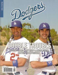Dodgers Magazine, Matt Kemp, Andre Ethier, Tommy Lasorda, September 2009 ~NEW