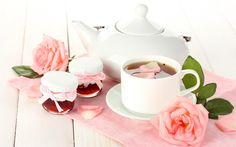 Herbata, Róża, Kwiat