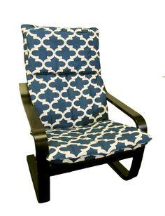 Housse pour fauteuil Poang IKEA en Cadet Fynn de par FreshKnesting, $105,00