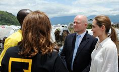 Foreign Secretary William Hague and actress Angelina Jolie visited a displacement camp in eastern Democratic Republic of Congo where the IRC is working to prevent violence against women and girls. A snapshot of our work with women and girls in DRC:  We provided life-saving care to 2,500 + women and girls who have been raped or abused in the past year.    We distributed 12,000 emergency kits for women over the past few months to enable them to wash in private and to reduce the risk at…