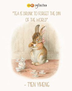 by Beatrix Potter. I adore these precious Beatrix Potter characters! Art And Illustration, Rabbit Illustration, Beatrix Potter Illustrations, Book Illustrations, Beatrice Potter, Peter Rabbit And Friends, Drinking Tea, Sipping Tea, Native American Indians