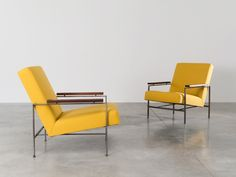 Rob Parry pair of lounge chairs for Gelderland
