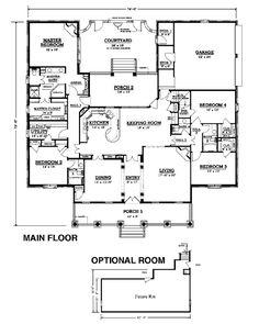 Another compromise plan. Floor plan