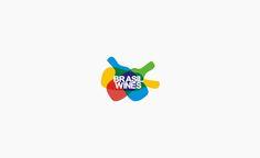 Brasil Wines logo design