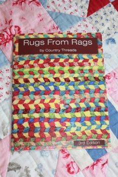 @tiffanyburbeck This is the book that I have and absolutely LOVE.  It will tell you how to build two different frames and how to get your first rug or placemat on the go.  Let me know if you can't find it and I'll happily bring it in for  you to photocopy........d.
