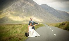 Hitchhiking in connemara, wedding day fun Connemara, Candid, Laughter, Wedding Day, Wedding Photography, In This Moment, Fun, Pi Day Wedding, Wedding Shot