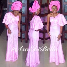 Fashion Hugs Tradition- Aso Ebi Dress Models with Photos Latest African Fashion Dresses, African Men Fashion, African Dresses For Women, Black Women Fashion, White Fashion, African Outfits, African Women, African Art, Men's Fashion