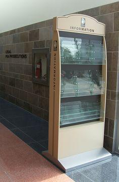 Info Display: Designed & Built for Durham Region. Visual Display, Display Design, Durham Region, Regional, Building Design