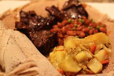Ethiopian recipes and a walk-through of how to make them. Ethiopian cookbooks are few and far between and EXPENSIVE! This is helpful. Ethiopian Cuisine, Ethiopian Recipes, Berbere Spice, Pot Roast, Healthy Recipes, Healthy Food, Main Courses, Favorite Recipes, Yummy Food