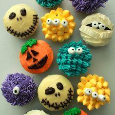 halloween cupcake ideas | Pink Oven Cakes and Cookies: Halloween ...