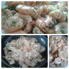 GEBRATENE GARNELEN Rezept: http://babsiskitchen-foodblog.blogspot.de/2015/07/gebratene-garnelen.html