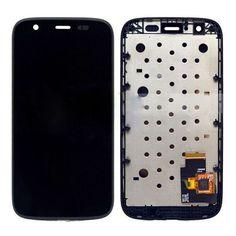 Motorola MOTO G XT1032 XT1033 için çerçeve ile Dokunmatik Ekran Digitizer Meclisi Ile LCD Ekran Ücretsiz Kargo