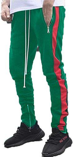 1aef126b17 Makkrom Mens Hip Hop Jogger Track Pants Drawstring Gym Sport Running Pants  at Amazon Men's Clothing