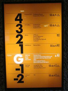 The Barbican Centre | Wayfinding and pictograms by EVERYDAYLIFEMODERN, via Flickr