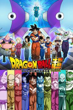 Dragon Ball Super Reveals New Poster For 'Universe Survival' Story Arc Dragon Ball Gt, Dragon Ball Image, New Dragon, Blue Dragon, Dbz, Akira, Dragonball Super, Dragons, Animes Online