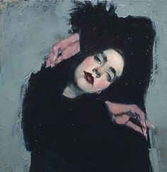 Malcolm Liepke painting