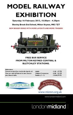 d279dc7936632 Helping to promote our partner events with the Marston Vale Community Rail  Parntnership. Milton Keynes