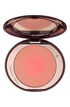Charlotte Tilbury Cheek to Chic Blush | Nordstrom #HowToCleanMakeupBrushes Maquillage Charlotte Tilbury, Charlotte Tilbury Makeup, Wet N Wild, Rimmel, Revlon, Tages Make-up, How To Apply Blusher, Cheek Makeup, Makeup Blush