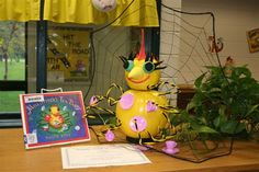 Miss Spider's Tea Party Book Pumpkin Contest