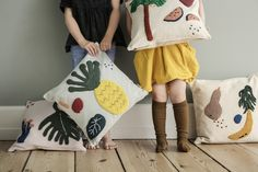 Kissen Fruiticana Ananas Ferm Living - Kleine Fabriek